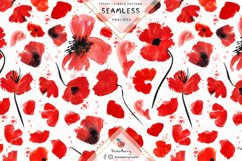 Poppies Seamless Pattern SP133 Product Image 2