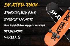 Skater Pack - Brush Font - Handletter Graffiti Font Product Image 4