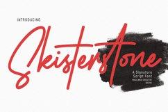 Skisterstones Signature Script Font Product Image 1