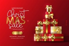Web Font Sleigh Bells - Christmast Font Product Image 3