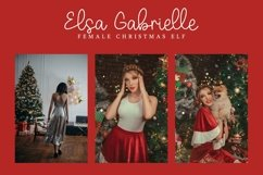 Web Font Sleigh Bells - Christmast Font Product Image 6