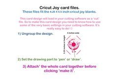 Cricut Joy Card! I like you a hole lot, Donut card design! Product Image 3