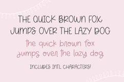 SUNDAY MORNING Cute Handwriting Font Product Image 4