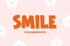 Smile - Handwritten Font with Extras Product Image 1