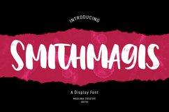 Smithmagis Handwritten Brush Font Product Image 1