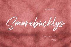 Smorebucklys Signature Font Product Image 1