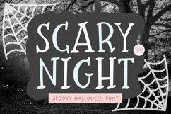 SCARY NIGHT Halloween Serif Font Product Image 1