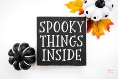 SCARY NIGHT Halloween Serif Font Product Image 5