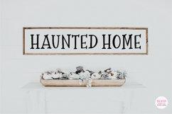SCARY NIGHT Halloween Serif Font Product Image 4