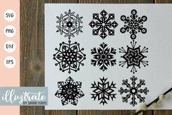 Snowflake SVG Cut File