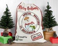 Santa Sack Bundle of 12 Designs | Christmas Gift Bag Print Product Image 2