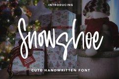 Snowshoe - Cute Handwritten Font Product Image 1