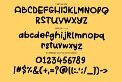 Web Font Sold out - a quirky handwritten font Product Image 4