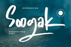 Web Font Soogak - Handwritten Font Product Image 1