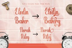 Shopia - Modern Calligraphy Font Product Image 6