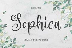 Web Font Sophica Font Product Image 1