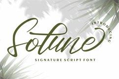 Web Font Sotune - Signature Script Font Product Image 1