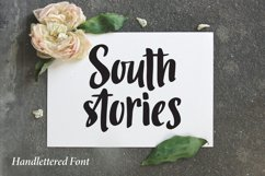 South Stories - Handlettered Font Product Image 1