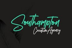 Southavely Script Signature Font Product Image 3