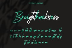 Southavely Script Signature Font Product Image 5