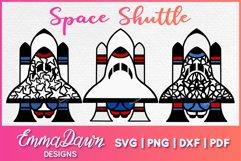 Space Shuttle Svg 3 Mandala Zentangle Designs Cut File