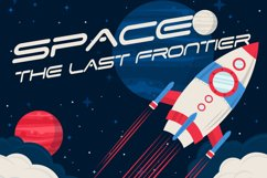 Space Speed Font Product Image 4