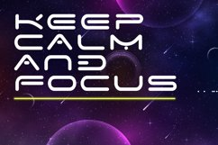 Space Speed Font Product Image 5