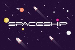 Space Speed Font Product Image 2