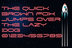 Space Speed Font Product Image 3