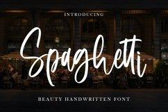 Spaghetti - Beauty Handwritten Font Product Image 1