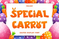 Special Carrot - Easter Display Font Product Image 1