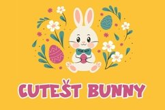 Web Font Special Carrot - Easter Display Font Product Image 3