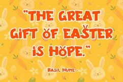 Web Font Special Carrot - Easter Display Font Product Image 6