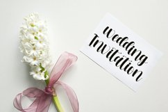 Specialist Crafts - Calligraphy Font Product Image 3