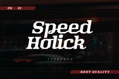 Speed Holick Product Image 1