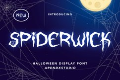 Spiderwick - Halloween Display Font Product Image 1