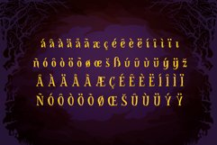 Spooky Font - Witch Alternate Glyphs Product Image 5