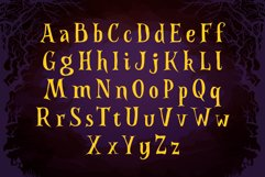 Spooky Font - Witch Alternate Glyphs Product Image 2