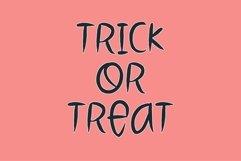 Web Font Spooky Head - a halloween font Product Image 2