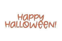 Web Font Spooky Head - a halloween font Product Image 3
