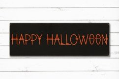 Web Font Spooky Scary - A Quirky Handlettered Font Product Image 3