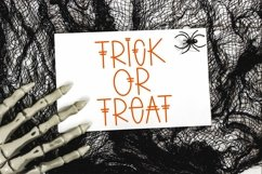Web Font Spooky Scary - A Quirky Handlettered Font Product Image 4