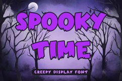 Spooky Time - Creepy Display Font Product Image 1