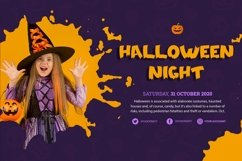 Web Font Spooky Time - Creepy Display Font Product Image 4