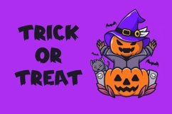 Web Font Spooky Time - Creepy Display Font Product Image 3