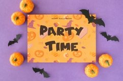 Web Font Spooky Time - Creepy Display Font Product Image 6