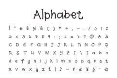 Spottydotty - a fun handwritten font