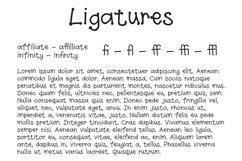 Spottydotty - a fun handwritten font with ligatures