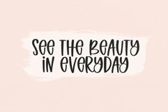 Web Font Spring Beauty - A Quirky Handwritten Font Product Image 5