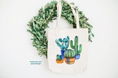 Watercolor cacti and succulents Product Image 3